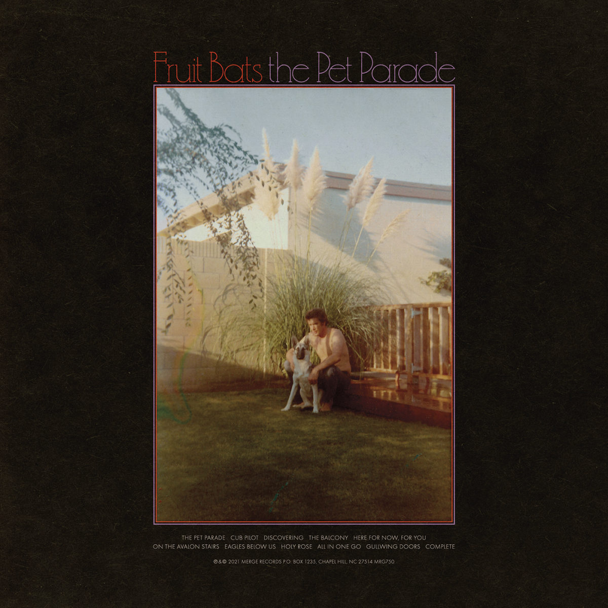 The Pet Parade - Fruit Bats (Merch & Vinyl) | Shop Merge Records Store
